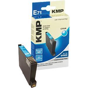 Tinte - Epson - cyan - T0442 - refill KMP PRINTTECHNIK AG 1005,4003