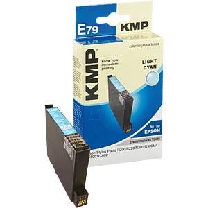 Tinte - Epson - hellcyan - T0485 - refill KMP PRINTTECHNIK AG 1004,4043