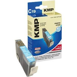 Tinte, photocyan - BCI-6 - refill KMP PRINTTECHNIK AG 09580,0043