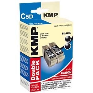 Tinte - Canon - schwarz - 2x BCI-3eBK - rebuilt KMP PRINTTECHNIK AG 0957,0021