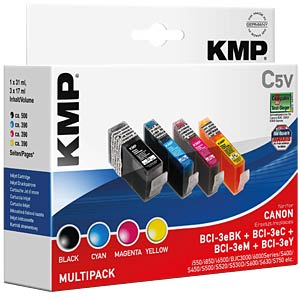 Ink - Canon - black - BCI-3e - rebuilt KMP PRINTTECHNIK AG 0957,0050