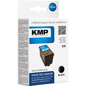 Tinte - Epson - schwarz - kompatibe KMP PRINTTECHNIK AG 0966,0001