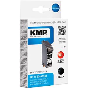 Tinte - HP - schwarz - 15 - refill KMP PRINTTECHNIK AG 0993,4151