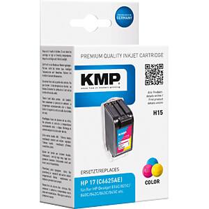 Tinte - HP - 3-farbig - 17 - refill KMP PRINTTECHNIK AG 0993,4250