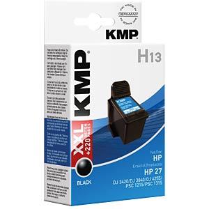 Tinte - HP - schwarz - H13 - refill KMP PRINTTECHNIK AG 0997,4271