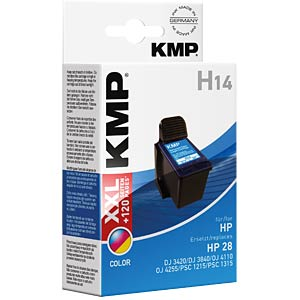 Ink — HP — 3-colour — H14 — refill KMP PRINTTECHNIK AG 0997,4280