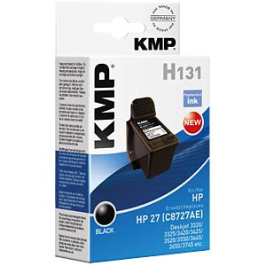 Tinte - HP - schwarz - 27 - refill KMP PRINTTECHNIK AG 0997,4821