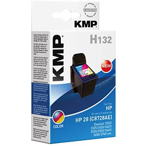 Ink — HP — 3-colour — 28 — refill KMP PRINTTECHNIK AG 0997,4880
