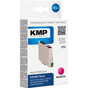 Tinte - Epson - magenta - T0443 - refill KMP PRINTTECHNIK AG 1005,4006