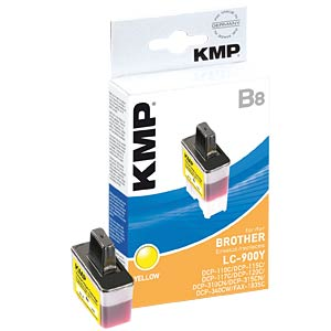 Yellow: Brother DCP-110C, 115C ,120C... KMP PRINTTECHNIK AG 1034,0009