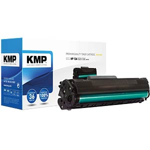 Toner — HP — black — 12A — remanufactured KMP PRINTTECHNIK AG 1114,5000