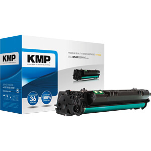 Toner - HP - schwarz - 49X - rebuilt KMP PRINTTECHNIK AG 1128,HC00