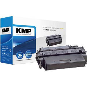 Toner — HP — black — 05X — remanufactured KMP PRINTTECHNIK AG 1217,6500