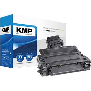 Toner — HP — black — 55X — remanufactured KMP PRINTTECHNIK AG 1222,6300