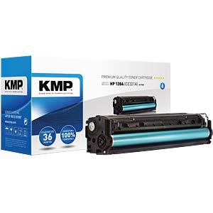 Toner — HP — cyan — 128A — remanufactured KMP PRINTTECHNIK AG 1227,0003