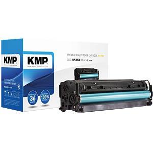 Toner — HP — cyan — 305A — remanufactured KMP PRINTTECHNIK AG 1233,0003