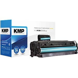 Toner — HP — yellow — 305A — remanufactured KMP PRINTTECHNIK AG 1233,0009