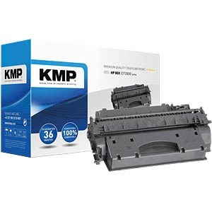 Toner — HP — black — 80X — remanufactured KMP PRINTTECHNIK AG 1235,6300