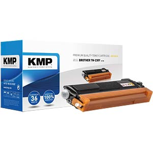 Toner — Brother — yellow — TN-230Y — remanufactured KMP PRINTTECHNIK AG 1242,0009