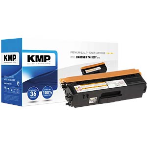 Toner — Brother — yellow — TN-325Y — remanufactured KMP PRINTTECHNIK AG 1243,HC09