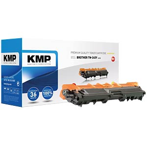 Toner — Brother — yellow — TN-245Y — remanufactured KMP PRINTTECHNIK AG 1245,3009