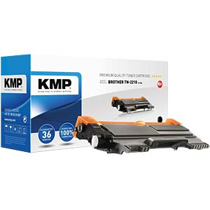 Toner — Brother — black — TN-2210 — comp. KMP PRINTTECHNIK AG 1256,0000