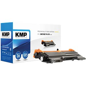 Toner — Brother — black — TN-2010 — remanufactured KMP PRINTTECHNIK AG 1257,0000