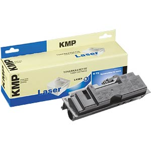 Toner - Kyocera - schwarz - TK-18 - rebuilt KMP PRINTTECHNIK AG 1304,0000