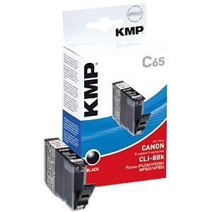 Tinte, schwarz - CLI-8 - refill KMP PRINTTECHNIK AG 1503,0001
