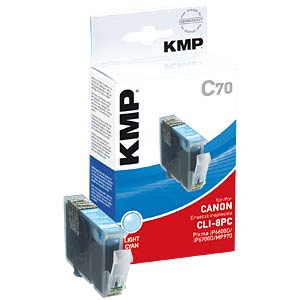 Tinte - Canon - photocyan - CLI-8 - refill KMP PRINTTECHNIK AG 1505,0043