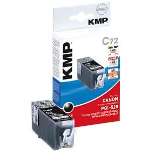 Black, pigmented:Canon PIXMA iP3600/4600. KMP PRINTTECHNIK AG 1508,0001
