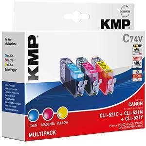 Ink - Canon - MP - CLI-521 - rebuilt KMP PRINTTECHNIK AG 1510,0005