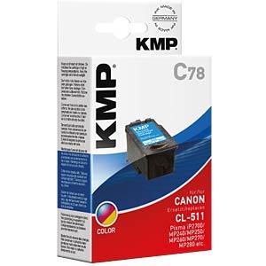 Tinte, 3-farbig - CL-511 - refill KMP PRINTTECHNIK AG 1512,4030