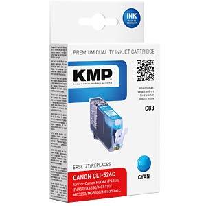 Tinte - Canon - cyan- CLI-526 - refill KMP PRINTTECHNIK AG 1515,0003