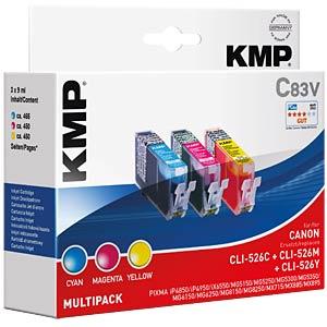 Tinte, MP - CLI-526... - refill KMP PRINTTECHNIK AG 1515,0050