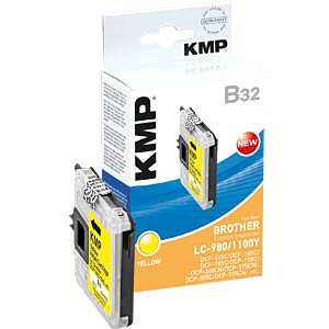 Yellow: Brother DCP 145C/165C/385C... KMP PRINTTECHNIK AG 1521,5229