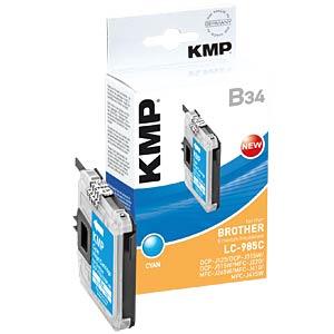 Tinte - Brother - cyan - refill KMP PRINTTECHNIK AG 1523,0003
