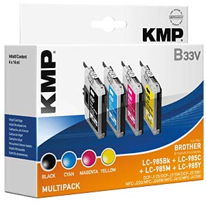 Ink — Brother — MP — LC-985 — KMP PRINTTECHNIK AG 1523,0050