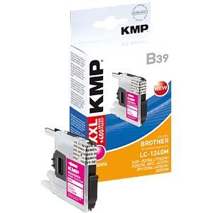 Tinte - Brother - magenta - LC1240 - refill KMP PRINTTECHNIK AG 1524,0006