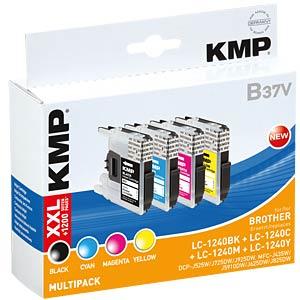 Tinte - Brother - Multipack - LC1240 - refill KMP PRINTTECHNIK AG 1524,0050