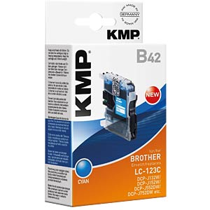 Ink — Brother — cyan — LC-123C — refill KMP PRINTTECHNIK AG 1525,0003