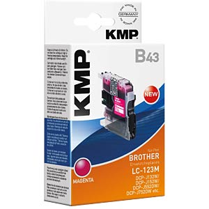 Ink — Brother — magenta — LC-123M — comp. KMP PRINTTECHNIK AG 1525,0006