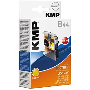 Tinte - Brother - gelb - LC-123Y - refill KMP PRINTTECHNIK AG 1525,0009