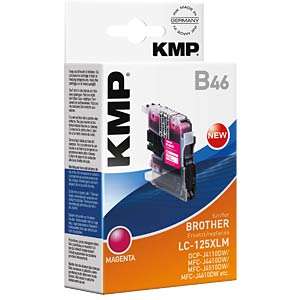 Ink — Brother — magenta — LC-125XLM — comp. KMP PRINTTECHNIK AG 1526,0006