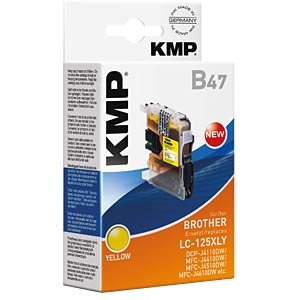 Ink — Brother — yellow — LC-125XLY — refill KMP PRINTTECHNIK AG 1526,0009