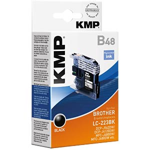 Ink — Brother — black — LC-223BK — refill KMP PRINTTECHNIK AG 1529,0001