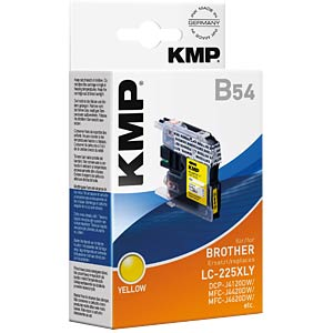 Ink — Brother — yellow — LC-225XLY — refill KMP PRINTTECHNIK AG 1530,0009