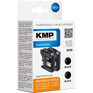 Tinte - Brother - schwarz - LC 227XLBk - refill KMP PRINTTECHNIK AG 1531,4021