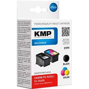 Tinte - Canon - Multipack - PG-545XL/CL-546XL - refill KMP PRINTTECHNIK AG 1562,4005