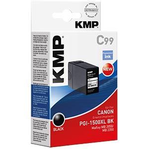 Tinte, schwarz - PGI-1500XL BK KMP PRINTTECHNIK AG 1564,0001